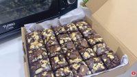 CARA MEMBUAT FUDGY BROWNIES SHINY CRUST ANTI GAGAL TANPA MIKSER